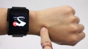 Use Your Arm as a Smart Watch Touch Pad
