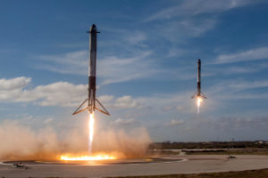 Video Friday: SpaceX's Double Booster Landing, Drone Taxi, and Robot Haka
