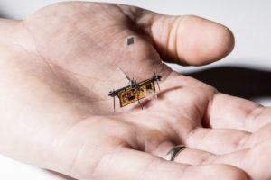 Laser-Powered Robot Insect Achieves Lift Off