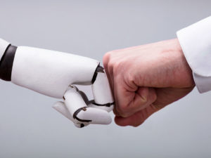 Two Robot Geeks Discuss Robotics PR, Automation Fears, and Terminators