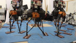 Teaching Bipedal Robots to Step Across Discrete Terrain