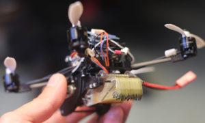 Tiny Drones Team Up to Open Doors
