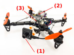 Event Camera Helps Drone Dodge Thrown Objects