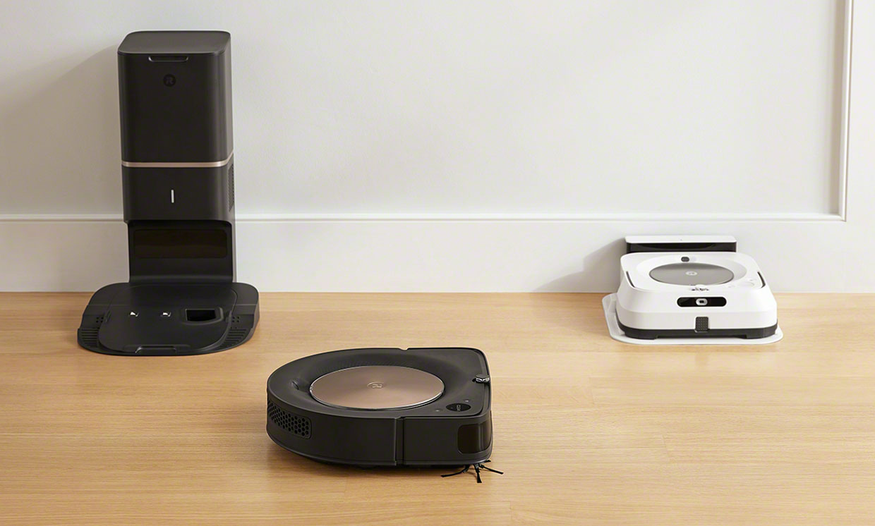 The Roomba s9 and Braava m6